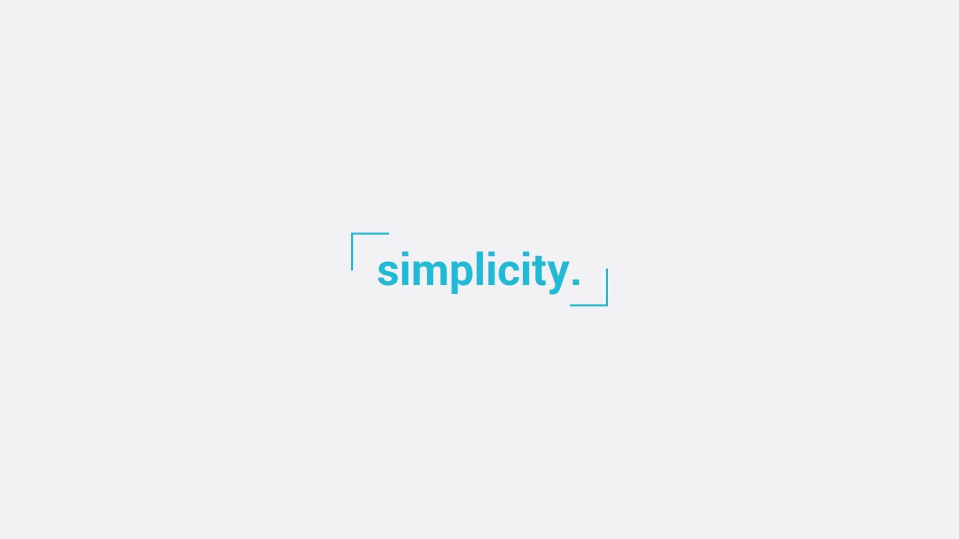 Simplicity – Plantilla Premium y fácil de editar