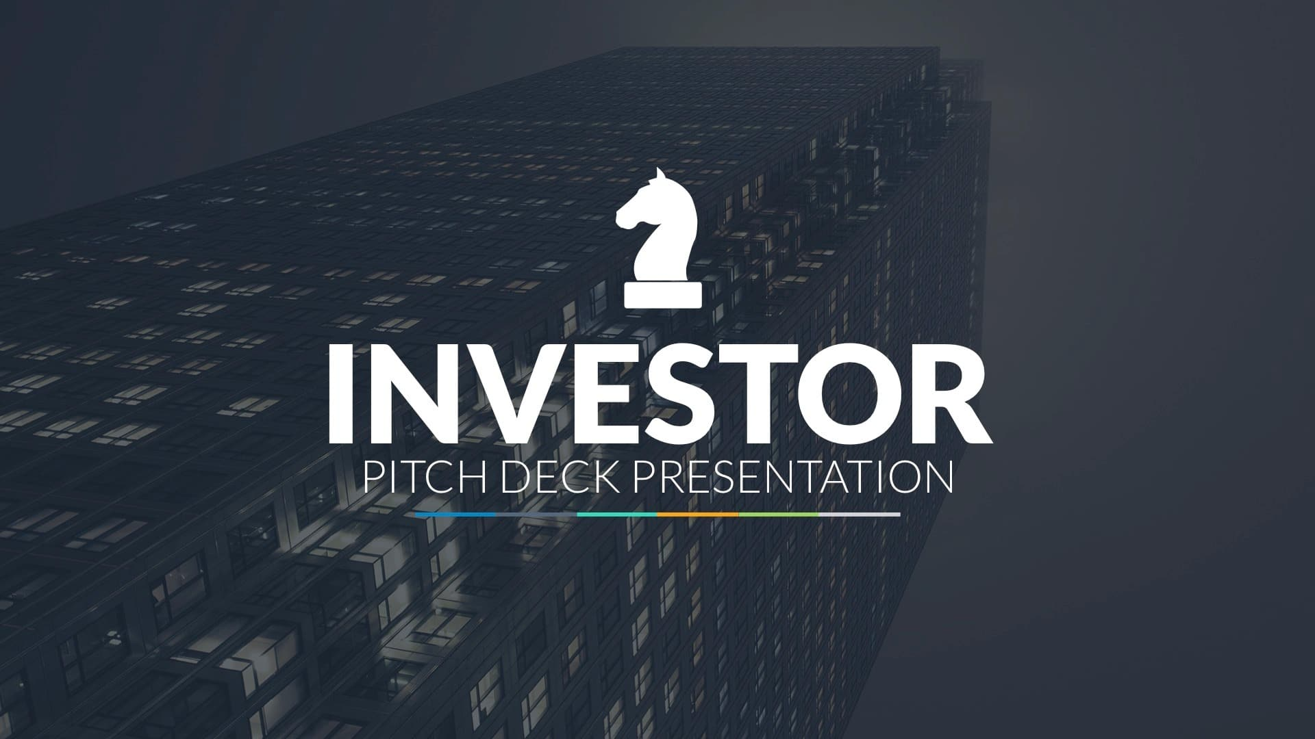 Plantilla de Powerpoint ideal para buscar inversores
