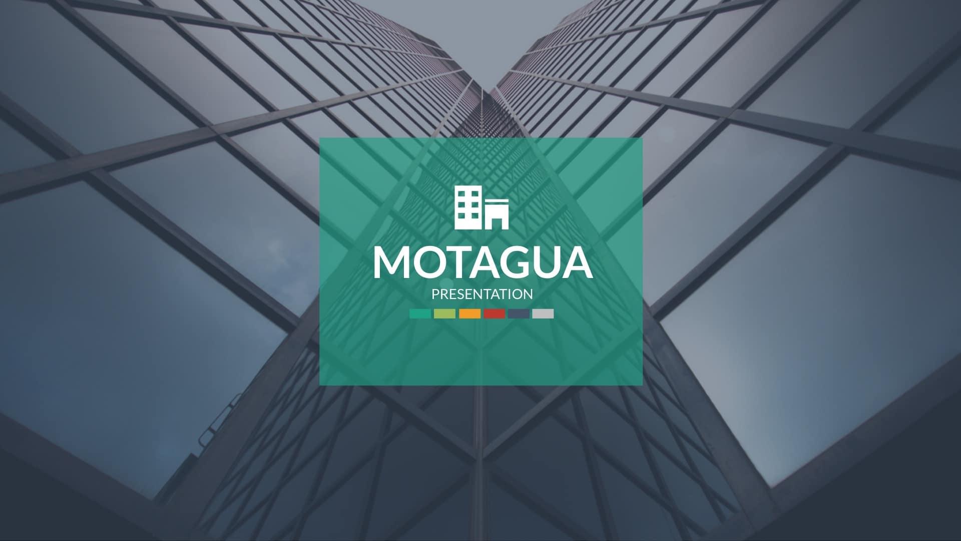 Cost Motagua - Plantilla Powerpoint múltiples usos