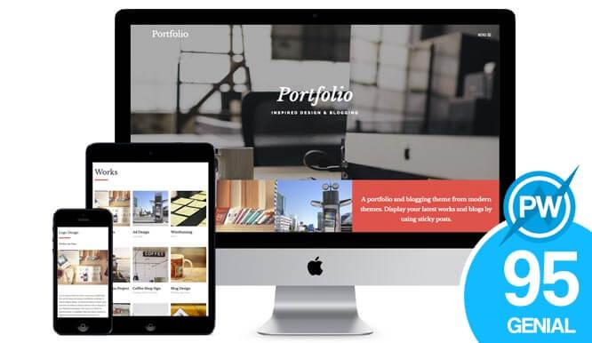 plantilla gratuita wordpress portfolio