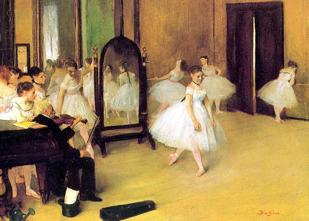 Edgar Degas: Clase de baile
