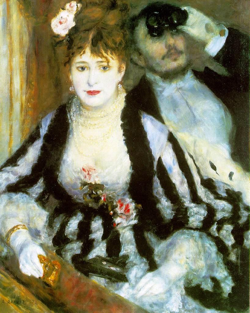 El palco - Pierre Auguste Renoir
